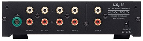 Musical Fidelity LX2-LPS MM/MC Phono Preamp (Black) by Musical Fidelity (Image #1)
