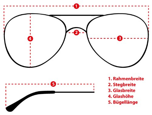 sol Nicht sense hombre para Gafas de Gläser Schwarz Verspiegelt EgEqO0P