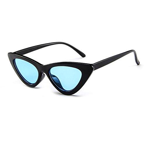 Retro Mod De Black Inlefen Style Cat Vintage Soleil Blue Eye Lunettes RwFYt8qx6Y