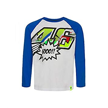 Valentino Rossi VR46 Moto GP Pop Art Niño Long Sleeve Camiseta ...