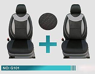 Ma/ß Sitzbez/üge kompatibel mit Seat Ateca Fahrer /& Beifahrer ab 2016 FB:128