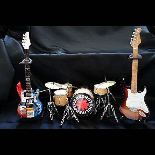 【おすすめ】 Miniture Guitar,Bass&Drums Hot Red Hot Chili Guitar,Bass&Drums Chili Pepper 3点セット B07PFPGZDS, ランドセルとベビー家具専門店:cf56e520 --- efichas.com.br