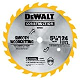 DEWALT DW9054 5-3/8-Inch 24 Tooth ATB General Purpose Saw Blade