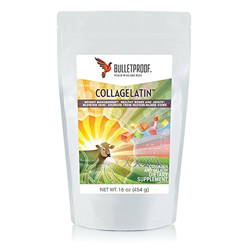Bulletproof CollaGelatin, Supports Weight Management, Healthy Bones and Joints and Glowing Skin (16 Ounces)