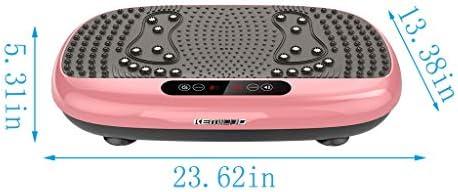 Xinqinghao 3D Full Body Vibration Platform Body Shaker Flat Platform Massager Fitness Platform Home Gym Office Training Equipment Power Board for Weight Loss, Wellness & Toning, 99 Levels 5