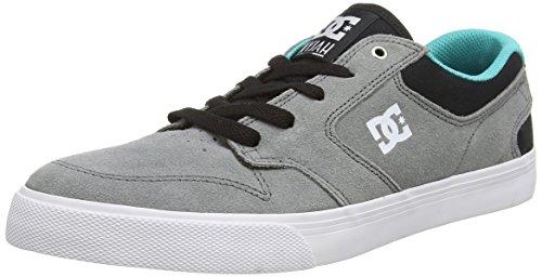 DC ShoesNYJAH VULC M SHOE - pantufla Hombre Gris - Grau (Grey/Black/Green XSKG)