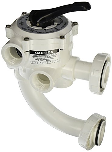 Pentair 261177 1-1/2-Inch Threaded Multiport Valve Replacement Pool and Spa D.E. ()