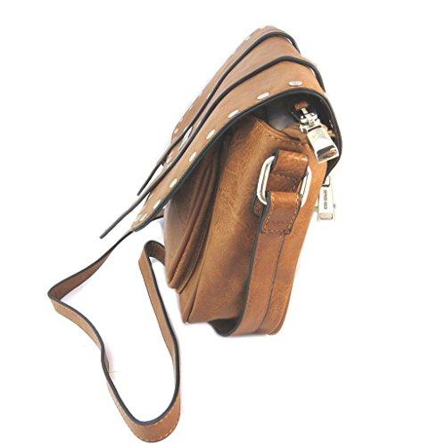 Bolso creativo 'Georges Rech'camello - 30x22x7 cm.