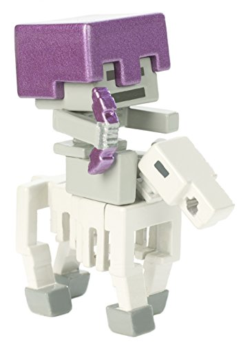 Rider Mini Figure - Mattel (MCJG9) Minecraft Deluxe Mini Skeleton Rider Figure