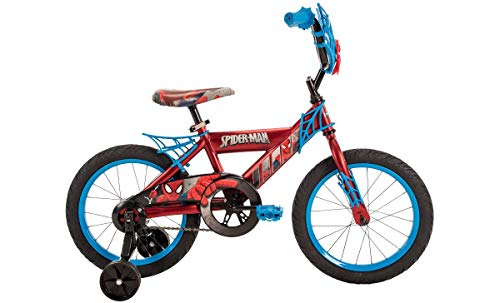 Huffy Boys' Marvel Spider-Man 16 in Bicycle (blue black) by Huffy (Image #1)