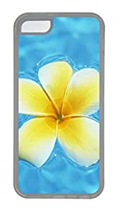 Hot iPhone 5C Case - Hawaiian Yellow Flowers Lovely Milk Bottles Funny Lovely Best Cool Customize iPhone 5C Cover TPU Transparent