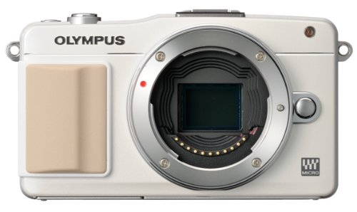 Olympus E-PM2 Mirrorless Digital Camera, White (Body Only)