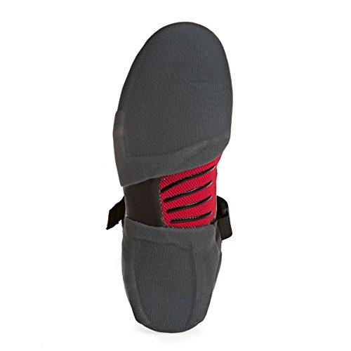 2017 Billabong Furnace Carbon X 5mm Round Toe Wetsuit Boot BLACK F4BT24
