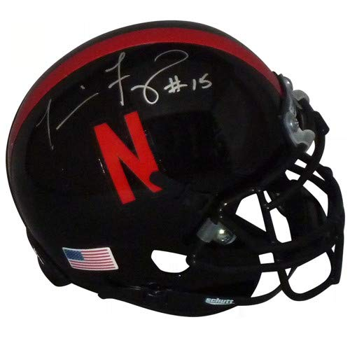 Tommie Frazier Autographed Signed Auto Nebraska Huskers Black Mini Helmet - Certified Authentic