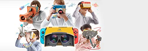 41 Ttkr%2B6kL - Nintendo Labo Toy-Con 04: VR Kit - Switch