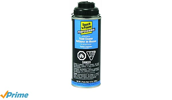 Amazon.com: Touch n Foam 4004528700 Low VOC Pro Foam and Gun Cleaner: Home Improvement