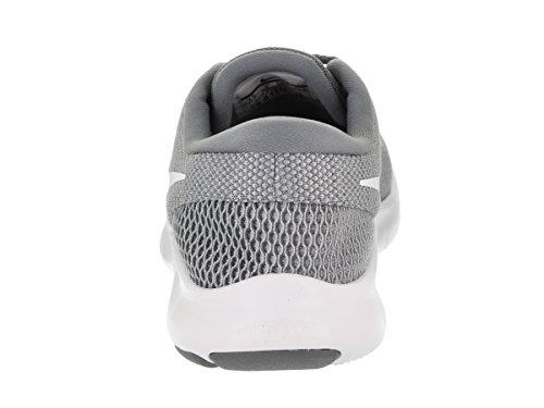 Wflex Blanc Grey 001 Experience Femmes Cool 7 Baskets Basses Gris Nike wolf Rn Hwfq55v