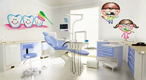 Dental Office Decorations for Kids Wall Decal Stickers Pediatric