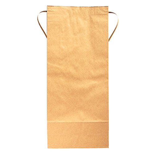 マルタカ クラフトSP 保湿タイプ 無地 窓なし 角底 10kg用紐付 100枚セット KHP-831 B00OZ3TUXQ 10kg用米袋|100枚入り 100枚入り 10kg用米袋