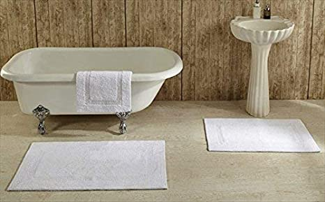 21 by 34-Inch Better Trends Sand Lux 21x34 Sand Pan Overseas 100-Percent Lux Cotton Reversible Bath Rugs