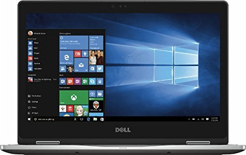 2016 Dell Inspiron 7000 13.3'' FHD (1920 x 1080) Touchscreen 2-in-1 Convertible Laptop, Intel Core i5-6200U Processor, 8GB RAM, 256GB SSD, Backlit Keyboard, Bluetooth, HDMI, Windows 10, Gray