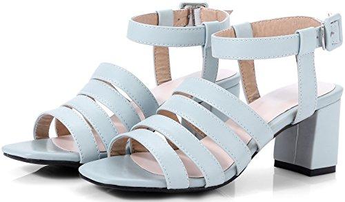 Calder Womens Sandalo Open Toe Open Toe 6,5 Cm Con Fibbia Sul Tallone E Scarpe Blu