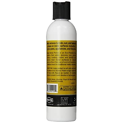 Bayes Metal Polish, 8 oz, Pack of 2: Health & Personal Care