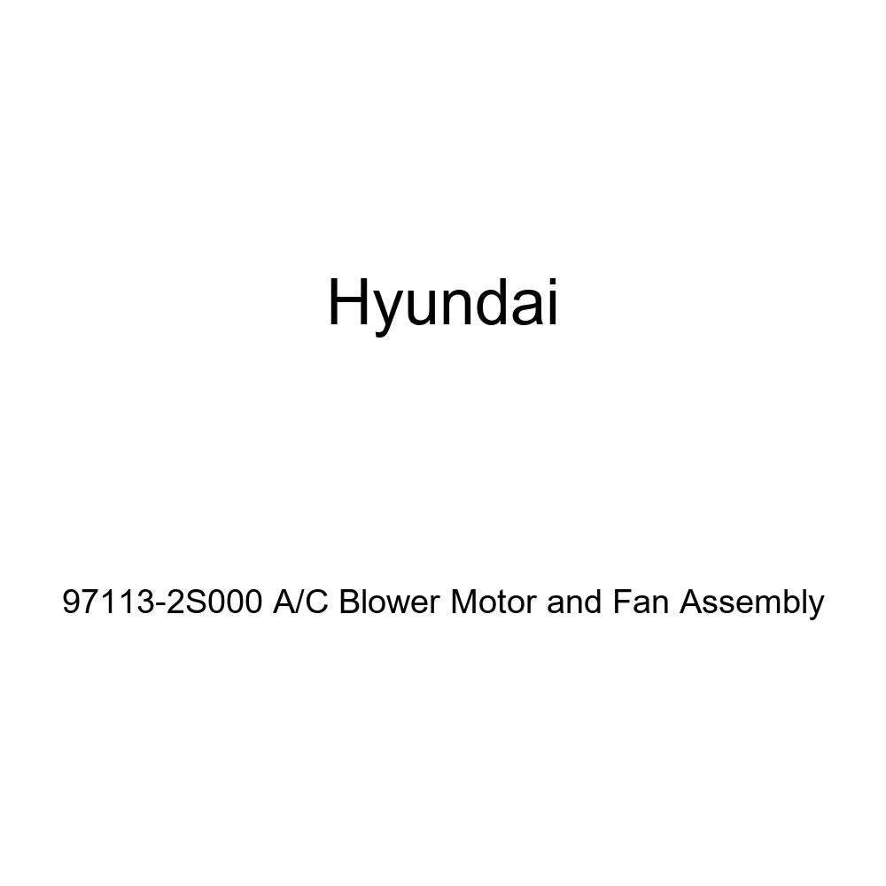 Genuine Hyundai 97113-2S000 A//C Blower Motor and Fan Assembly