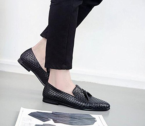 Leather Office Men's Spring Shoes Joint Fashion HUAN Shoes Shoes Formal for amp; Fall Split Walking Oxfords Career Shoes Bullock Black Boots Wedding SqEwppUd