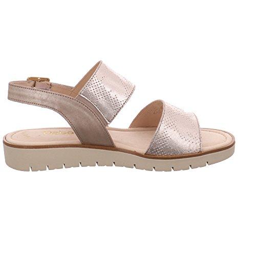Gabor 65.570.63 - Sandalias de vestir para mujer 63muschel