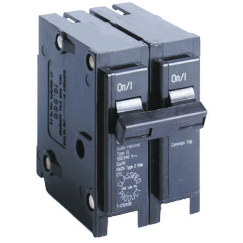 240v Breaker - Eaton Corporation CL230CS Double Pole Ul Classified Replacement Breaker, 240V, 30-Amp