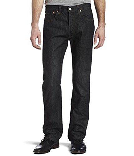 Levi's Men's 501 Original Fit Jean, Iconic Black, 32x36