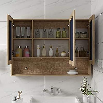 Mobile Bagno Specchio Contenitore.Armadietto Da Bagno Specchio Contenitore Bagno Mobiletto Pensile