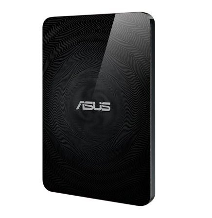 Photo - ASUS Wireless Duo 1TB USB3.0 WIFI External Hard Drive (Apple / Android / Kindle Fire) SD card slot reader