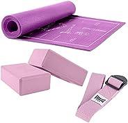 Everlast Yoga Essential Kit - Purple
