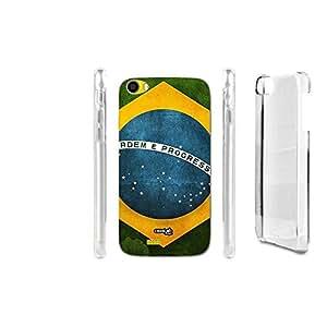 FUNDA CARCASA BRASILE FLAG PARA WIKO LENNY