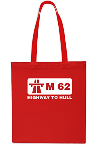 42cm Shopping Gym x38cm Highway litrest 10 Bag Red Black Small M62 Tote Hull to Beach gIa8S