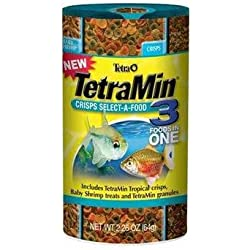 Tetra Tetramin Crisps Select-A-Food 2.4oz