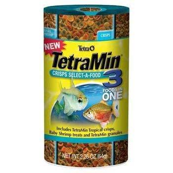 Tetra Goldfish Crisps (Tetramin Crisps Select-A-Food 2.4oz)