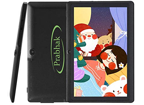 Prabhak Android Tablet (Black E5 Tablet with 1 GB RAM,16 GB ROM,7 inch with WiFi Only Tablet)