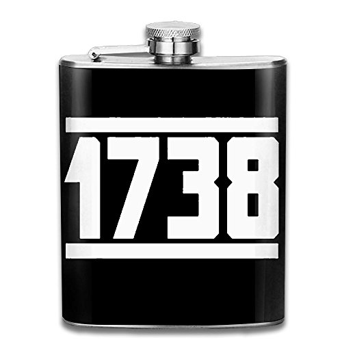 1738 Cognac - SmallHan 1738 Gift For Men 304 Stainless Steel Flask 7oz