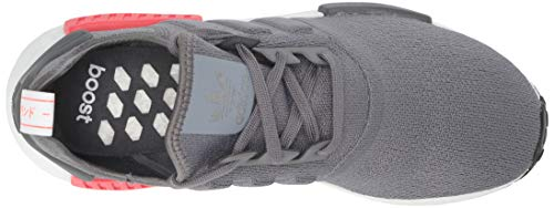 adidas Originals Men's NMD_R1 Running Shoe, Grey/Shock red, 4 M US by adidas Originals (Image #8)