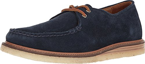 Sperry Top-Sider Gold Cup Captain's Crepe Suede Oxford Men 9 Blue