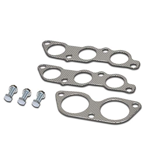 Aluminum Exhaust Manifold Header Gasket Set for 01-05 Lexus IS300 Engine (Best Exhaust For Is300)