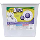 Crayola Model Magic, White Clay Alternative, DIY Slime Ingredient, 2lb