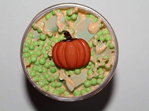 Pumpkin Pie Taffy - 4 oz (Taffy Slime) from Samantha's Slime Shop