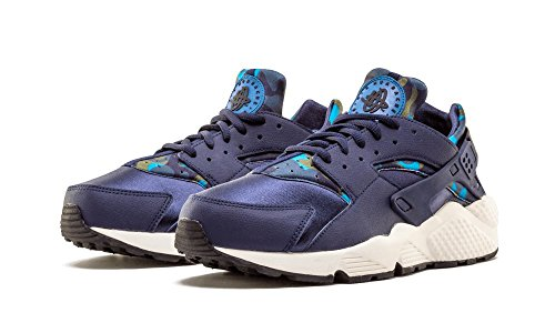 Huarache Azul Obsidian Black Air Turnschuhe Damen Wmns Nike Run Marino sail Print z10xqtpnw