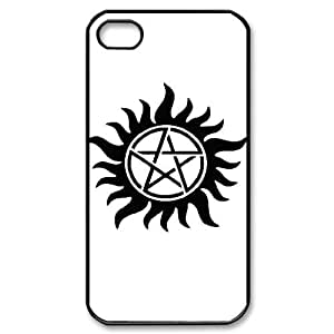 DIY Supernatural Phone Case, DIY Case Cover for iphone 4,4s with Supernatural (Pattern-4)