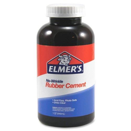 Rubber Cement, Repositionable, 1 qt