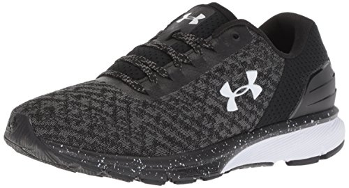 Under Armour Women's Charged Escape 2 Running Shoe, Black (002)/White, 7.5